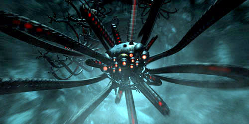Sentinel Drone, The Matrix, 1999, via the Wachowski brothers
